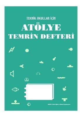 ATÖLYE TEMRİN DEFTERİ (80 Sayfa)